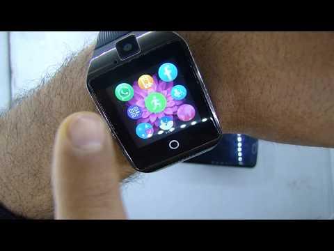 أروع ساعة ذكية من بانغود بوظائف خيالية وثمن جد مناسب Bakeey Q18 Smart Watch