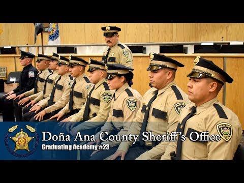 Doña Ana County Sheriff's Office Graduation Ceremony: Class #23