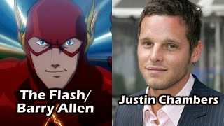 Characters and Voice Actors - Justice League: The Flashpoint Paradox