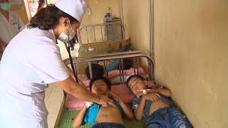 28 học sinh ngộ độc do ăn phải đỗ tương đóng gói ở Tuyên Quang