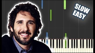 You Raise Me Up - Josh Groban   SLOW EASY PIANO TUTORIAL + SHEET MUSIC by Betacustic