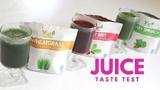 Whole greens vs green juices vs green powders w john kohler yae organics juice powder taste test fandeluxe Image collections