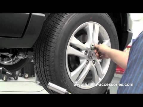 CRV Wheel Locks Installation (Honda Answers #7)