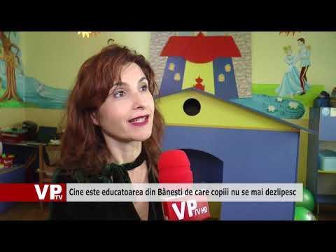 Cine este educatoarea din Bănești de care copiii nu se mai dezlipesc