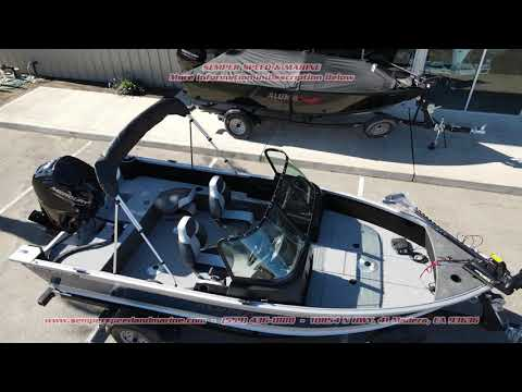 2021 Alumacraft Competitor 165 Sport in Madera, California - Video 2
