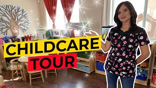 HOME DAYCARE TOUR - DAYCARE PROVIDER - Classroom July Updated