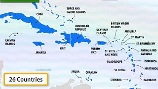 Haiti Dominican Republic Jamaica Cuba Trinidad = United Caribbean islands