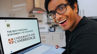 THE BEST PERSONAL STATEMENT I'VE EVER READ (Cambridge University Example)