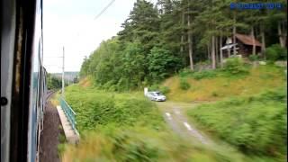 preview picture of video 'Projížďka po trati 091, 30.6.2014'