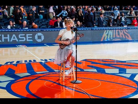 Grace VanderWaal - Riptide & Light The Sky (Live at the NY Knicks Halftime Show)