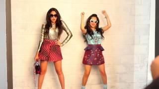 БЕККИ ГОМЕЗ, SNEAK PEAK: Jasmine V & Becky G are Latina's February 2014 Cover Stars