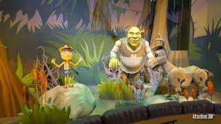 [4K] Shrek Ride - Trackless Dark Ride - Motiongate Theme Park in Dubai