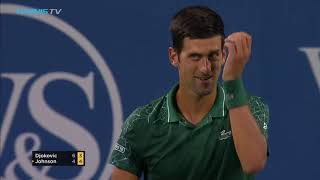Djokovic Attacked By Bug! Is Steve Johnson To Blame?