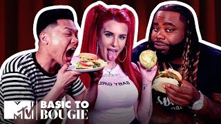 Justina Valentine Returns For Veggie Burgers & Frog Legs | Basic to Bougie Season 3 | MTV