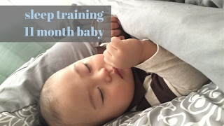 How i trained my 11 month old baby to sleep through the night.