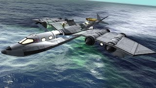 KSP 1.1: Sending a Seaplane to Laythe and back!