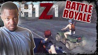 THE POSSESSED ATV!!  - H1Z1 Battle Royale Gameplay