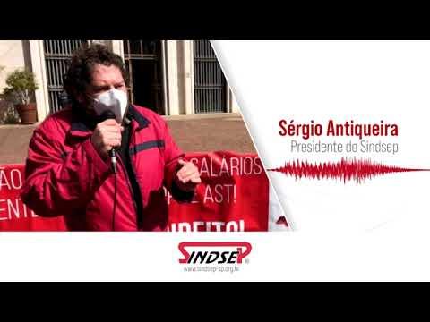 Sergio Antiqueira convoca aos servidores para mobilização contra PEC 32 no dia 18.08