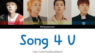 WINNER - SONG 4 U [Color Coded Lyrics Kan/Rom/Eng