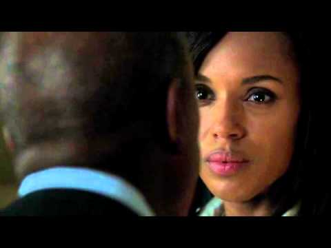 Olivia Pope and Papa Pope confrontation