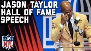Jason Taylor's Hall of Fame Speech | 2017 Pro Football Hall of Fame | NFL