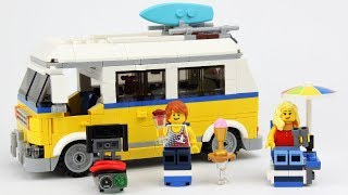 LEGO Sunshine Surfer Van 31079 Creator 3-in-1  Review!