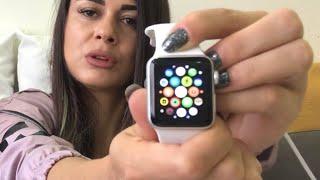 APPLE WATCH 3 AÇILIMI ( Tiktok dan kazandık) #tiktok #applewatch #kutuaçılımı