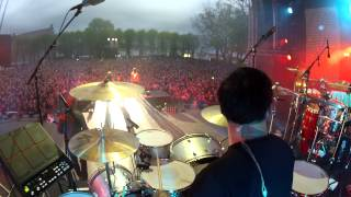 YLVIS - MASSACHUSETTS drum cam Koengen 16.05.14