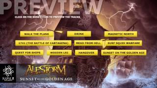 ALESTORM - Sunset On The Golden Age (Preview) | Napalm Records
