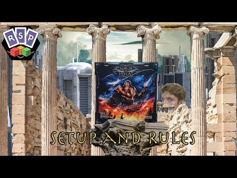 Lords Of Hellas Setup and Rules