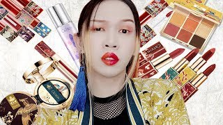 【中國古風彩妝品?】YES還是NO?|Traditional Chinese Style Cosmetics|Catkin卡婷|Anima開開箱