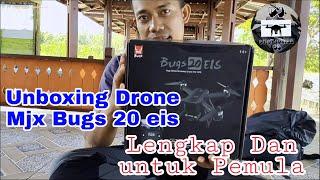 Unboxing Drone Mjx Bugs 20 eis untuk pemula
