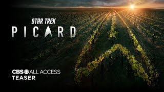 VIDEO: STAR TREK: PICARD – Teaser Trailer