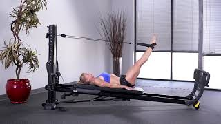 Short Spine with Leg Pulley