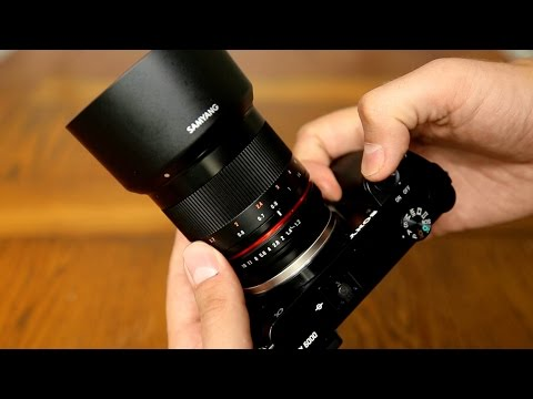 Samyang 50mm f/1.2 AS UMC CS lens review with samples