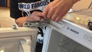 Bosch Gefrierschrank einbauen   HD 720p