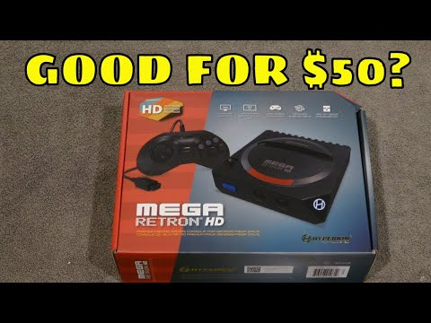 Mega Retron HD Review:  The Best Budget Genesis Clone?