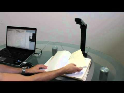Mobiler Dokumenten Scanner