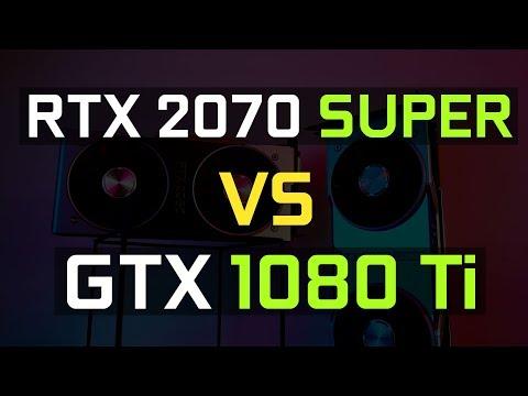 Jing 評測2070 Super與1080 Ti的比較