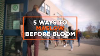 More Than a Check-In: Maslow Before Bloom Throughout the Day