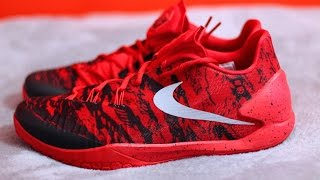 Unboxing Nike Hyperchase Harden PE Playoff Camo Red Black