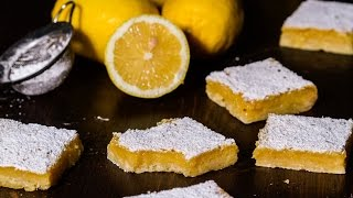 Lemon Bars Recipe by Home Cooking Adventure