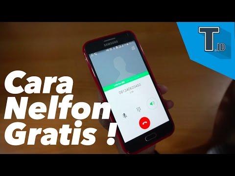Video Cara Nelfon Gratis - Tutorial.id