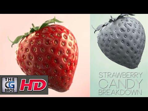 "CGI & VFX Breakdowns: ""Strawberry Candy"" – by Giulio Tonini"