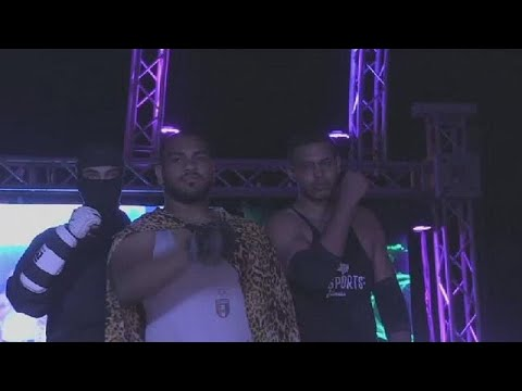Egypt's amateur boxers dream of famed WWE