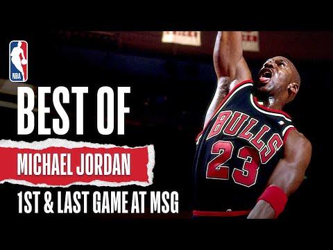 MJ's 1st & Last Games At The Garden | The Jordan Vault