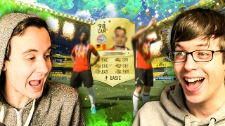 DOUBLE WALKOUT FORTUNE!!! - FIFA 17 PACK OPENING
