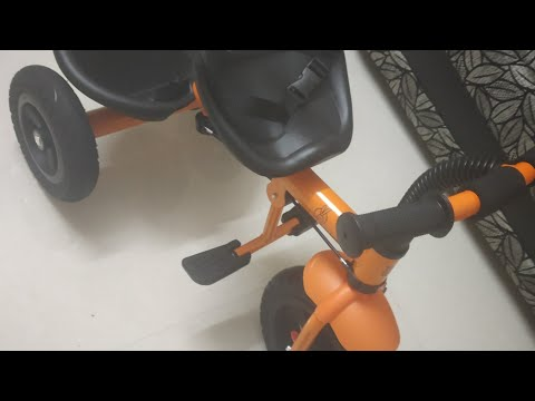 R for Rabbit Tiny Toes Grand Baby/Kids Cycle with Rubber Wheels - Smart Plug & Play Baby Tricycle