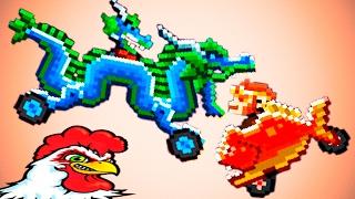 DRIVE AHEAD #15 Новые ЗАДАНИЯ Мульт Игра для детей про битву на тачках Разбей голову противнику