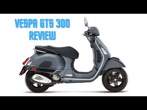 Vespa GTS 300 Super ABS ASR Review